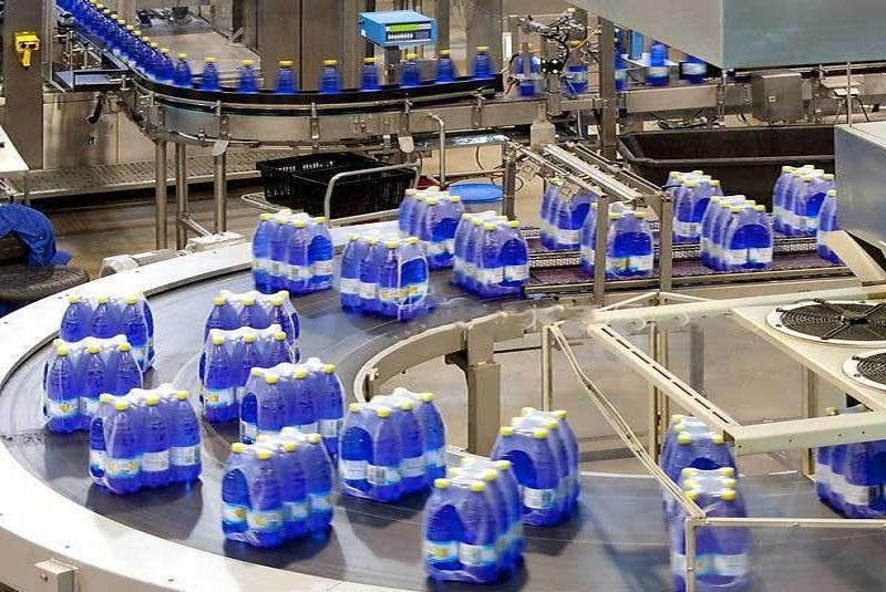 دستگاه شیرینگ آب معدنی